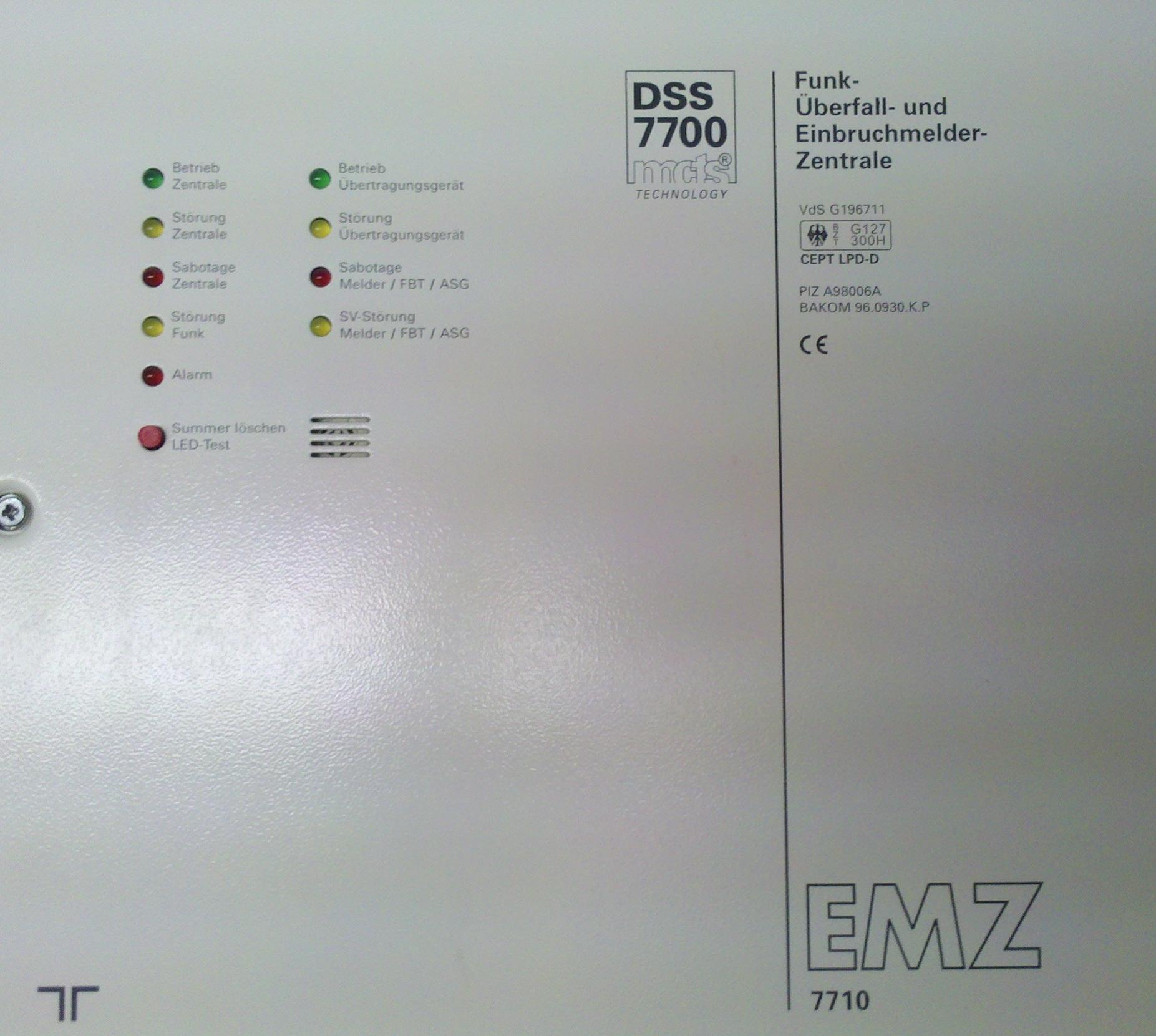 Telenot Alarmanlagen bei schutzfabrik GmbH Bochum